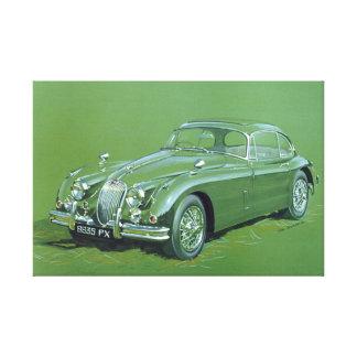 Jaguar XJ120 Gespannte Galerie Drucke