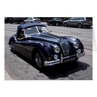 Jaguar XK 120 Karte