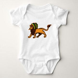 Jah König Rasta Lion Baby Strampler