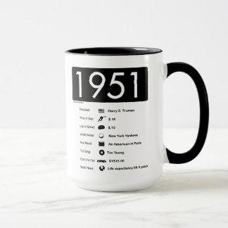 Jahr 1951-Great (15 Unze.) Kaffee-Tasse Tasse