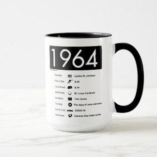 Jahr 1964-Great (15 Unze.) Kaffee-Tasse Tasse