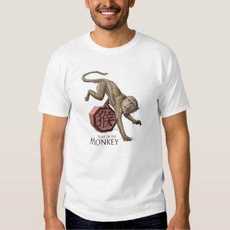 Jahr der Affe-chinesischen Tierkreis-Kunst Tshirt