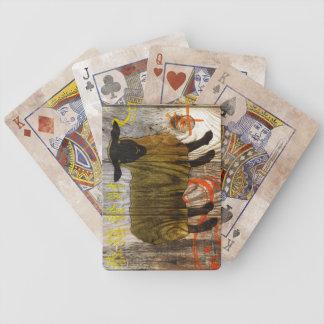 Jahr der hölzernen Schafe Bicycle Spielkarten
