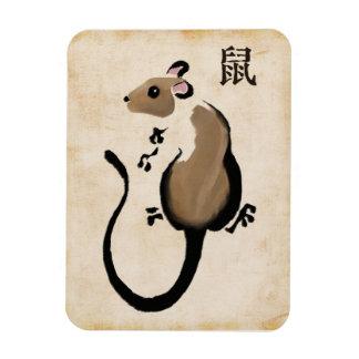 Jahr der Ratte Magnet