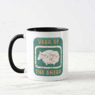 Jahr der Schaf-RAM-Ziege Tasse