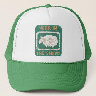 Jahr der Schaf-RAM-Ziege Truckerkappe