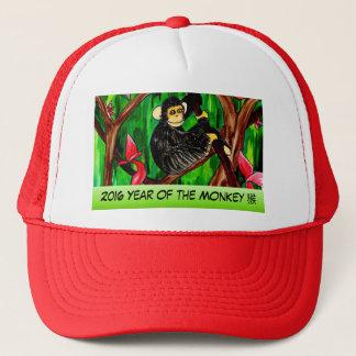 Jahr des Affehutes Truckerkappe