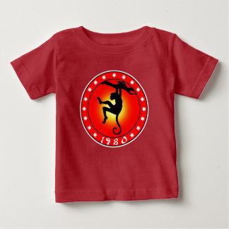 Jahr des Affen 1980 Baby T-shirt