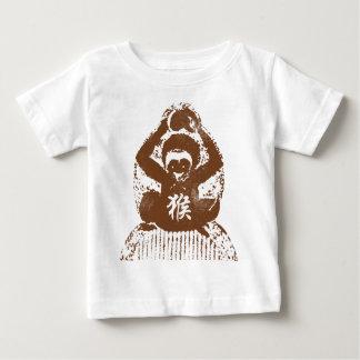 Jahr des Affen abstrakt Baby T-shirt