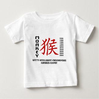 Jahr des Affen Baby T-shirt