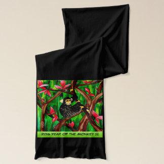 Jahr des Affeschals Schal