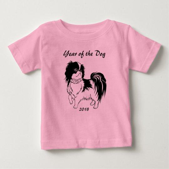 Jahr des chinesischen neues Jahr-Baby-Shirts des Baby T-shirt