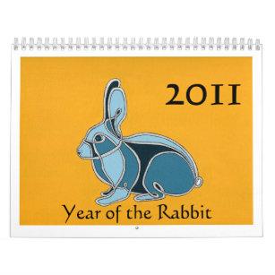 Jahr des Kaninchens Kalender
