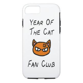Jahr des Katzen-Fanclub-Falles iPhone 7 Hülle