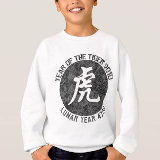 Jahr des Mondjahres 4708 des Tiger-2010 Sweatshirt
