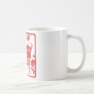 Jahr des OCHSEN Kaffeetasse
