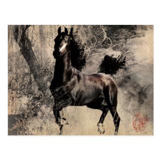 Jahr des Pferds 2014 - Malerei-Kunst Postkarten