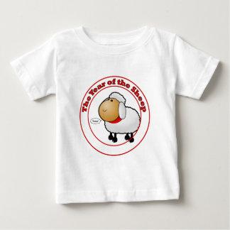 Jahr des Schaf-Cartoon Baby T-shirt