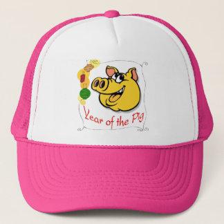 Jahr des Schweins Truckerkappe