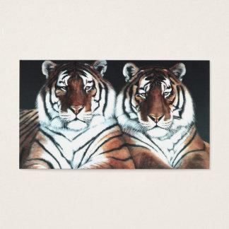 Jahr des Tigers Visitenkarten