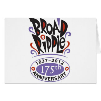 Jahrestag 175 karte