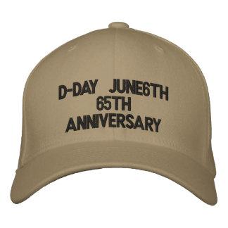 Jahrestag des Invasionstag-June6th65th Bestickte Baseballkappe
