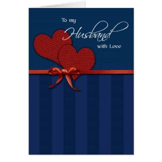 Jahrestag - zu meinem Ehemann w/love Karte