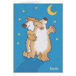 Jahrestags-Bären Grußkarten