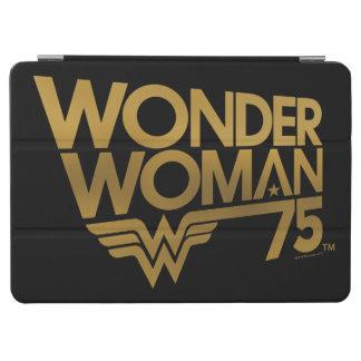 Jahrestags-Goldlogo der Wunder-Frauen-75. iPad Air Cover