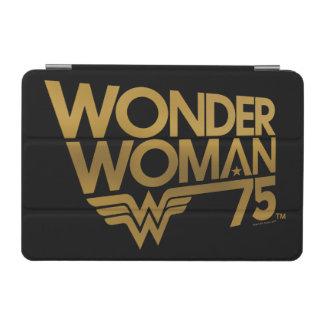 Jahrestags-Goldlogo der Wunder-Frauen-75. iPad Mini Hülle