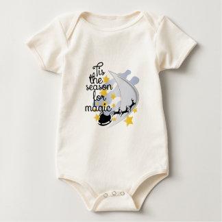 Jahreszeit für Magie Baby Strampler