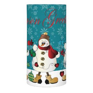 Season Greetings Snowman Friends
