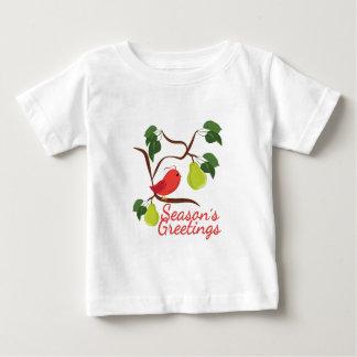 Jahreszeiten Greetin Baby T-shirt