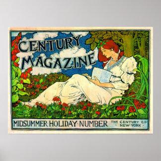 Jahrhundert-Zeitschrift 1894 Plakatdrucke