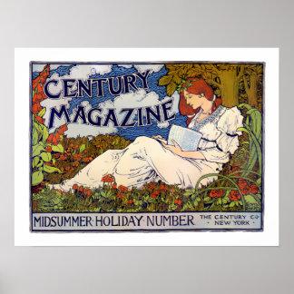 Jahrhundert-Zeitschrift - Plakat