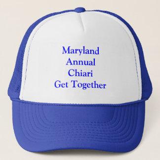 Jährliches Chiari Treffen Marylands Truckerkappe
