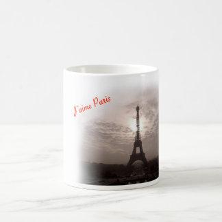 J''aime Paris Kaffeetasse