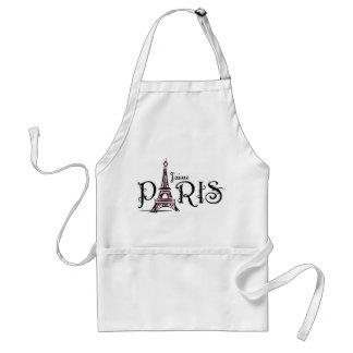 J'aime Paris Schürze