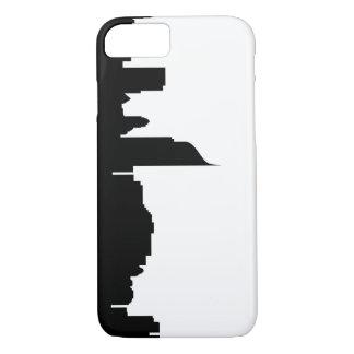 Jakarta-Stadt Skyline-Silhouette Indonesien iPhone 7 Hülle