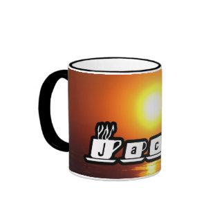 Jakob - am Sonnenuntergang Kaffeehaferl