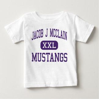 Jakob J McClain - Mustangs - Mitte - Lexington Baby T-shirt