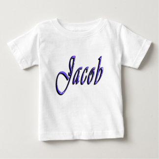 Jakob, Name, Logo, der weiße T - Shirt des Babys