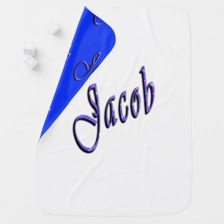 Jakob, Name, Logo, gemütlich umschaltbare Kinderwagendecke