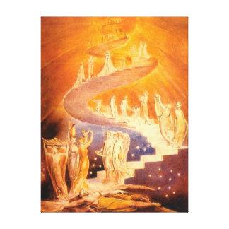 Jakobs Traum durch William Blake Galerie Gefaltete Leinwand