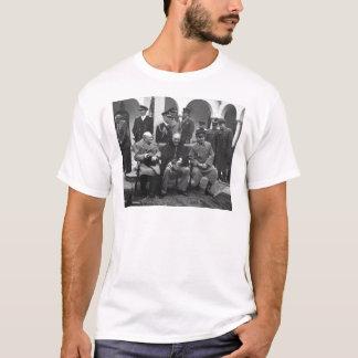 Jalta-Konferenz Roosevelt Stalin Churchill 1945 T-Shirt