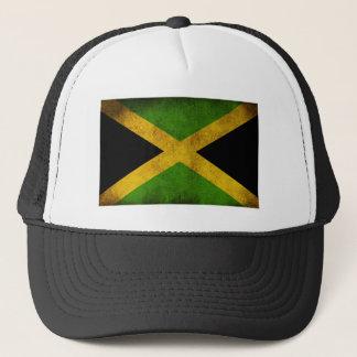 Jamaica Flag - Proud Jamaicans - Rasta Cap Truckerkappe