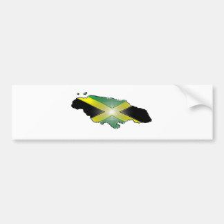 Jamaika Autoaufkleber