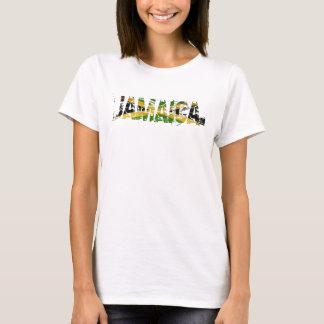 Jamaika beunruhigte Flagge Behälter-Spitze T-Shirt