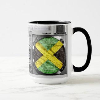 Jamaika boombox tasse