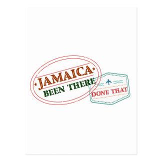 Jamaika dort getan dem postkarte
